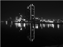 Reflections in Cairo by Night