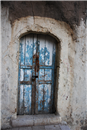 White-Bluish door  - As-Salt